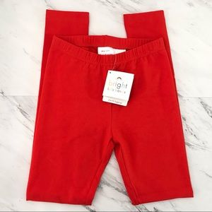 Hanna Andersson Slim Fit Leggings Red Size 140/10